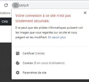 """""""Il se peut que des pirates informatiques puissent voir les images que vous regardez sur ce site et vous piègent en les modifiant."""""""